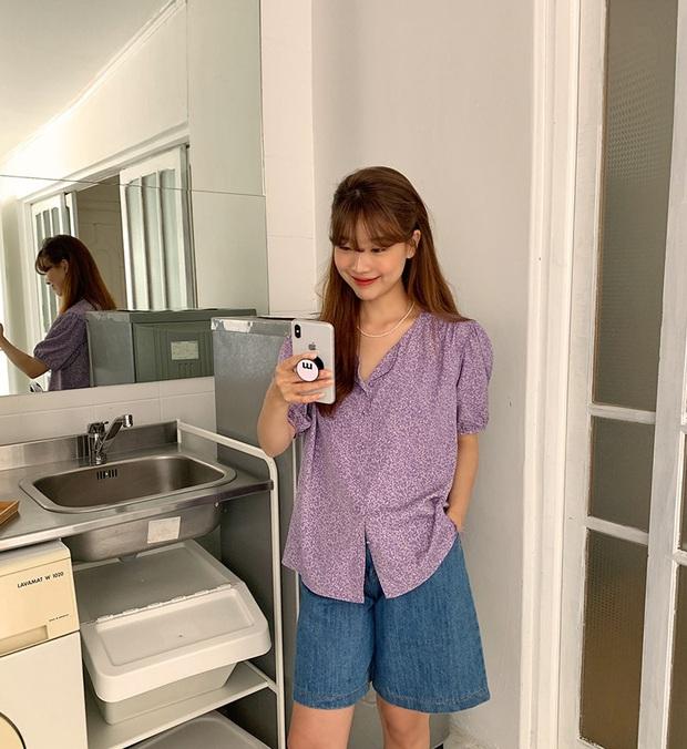 4 items kết hợp cực nuột với áo tím hot hit, chị em diện lên chỉ đẹp và sang chứ không có chuyện sến - Ảnh 3.