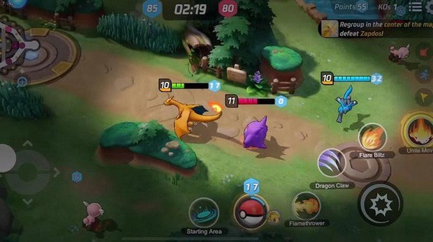 Xuất hiện game MOBA Pokemon, chơi như LMHT, miễn phí hoàn toàn 100% - Ảnh 4.