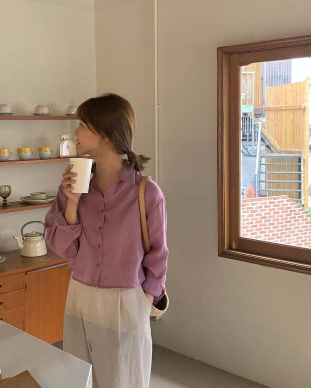 4 items kết hợp cực nuột với áo tím hot hit, chị em diện lên chỉ đẹp và sang chứ không có chuyện sến - Ảnh 8.