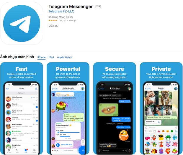Có thêm tính năng mới, Telegram cạnh tranh sòng phẳng với Facebook Messenger - Ảnh 2.