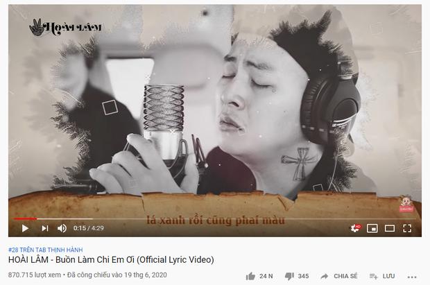 Ca khúc của Hoài Lâm lọt top trending hậu ly hôn, BLACKPINK bùng nổ trước giờ G, Em Không Sai Chúng Ta Sai sau 2 tháng phát hành bỗng trỗi dậy - Ảnh 1.
