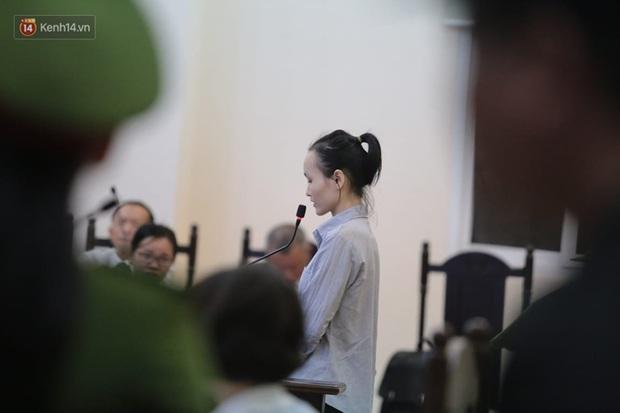 Vụ giết người, đổ bê tông: Các bị cáo nói lời xin lỗi, mẹ của nữ chủ mưu bật khóc mong giảm hình phạt cho con gái mình - Ảnh 12.