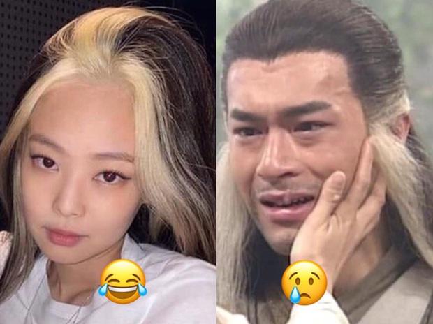 Tin nổi không: Quả tóc đang nhuộm thì hết thuốc của BLACKPINK Jennie ở How You Like That lấy cảm hứng từ... Dương Quá? - Ảnh 1.