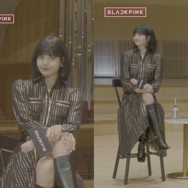 Tóc tai của Black Pink trong họp báo comeback: Có vẻ như hair stylist độ Jisoo mà không độ Lisa, Jennie - Ảnh 11.