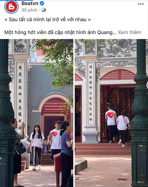 Xôn xao hình ảnh nghi vấn Quang Hải lần đầu xuất hiện bên Huỳnh Anh sau lùm xùm, biểu cảm của cả 2 gây chú ý - Ảnh 3.