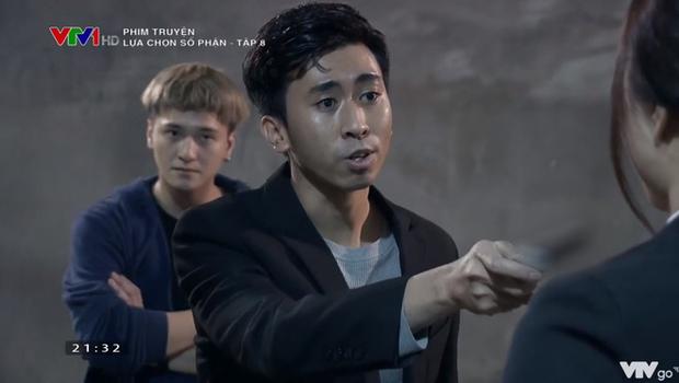 Huỳnh Anh tung nắm đấm cực ngầu, giải cứu người đẹp trong tích tắc ở Lựa Chọn Số Phận tập 8 - Ảnh 5.