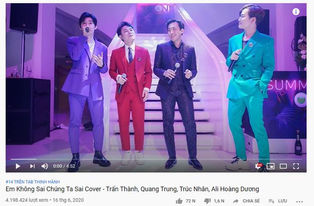 Ca khúc của Hoài Lâm lọt top trending hậu ly hôn, BLACKPINK bùng nổ trước giờ G, Em Không Sai Chúng Ta Sai sau 2 tháng phát hành bỗng trỗi dậy - Ảnh 12.