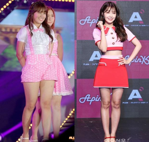 Bí quyết nào giúp Eunji (Apink) giảm được 15kg ngoạn mục, lấy lại body mình hạc sương mai? - Ảnh 1.
