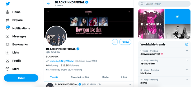 BLACKPINK mở Twitter chính thức đối đầu trực diện với ông hoàng BTS, nhưng chưa gì đã vượt mặt rồi? - Ảnh 2.