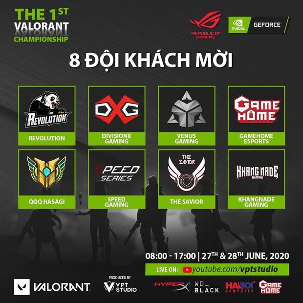 Việt Nam có giải đấu Valorant offline đầu tiên trên thế giới, quy tụ nhiều đội tuyển danh tiếng tham gia - Ảnh 4.