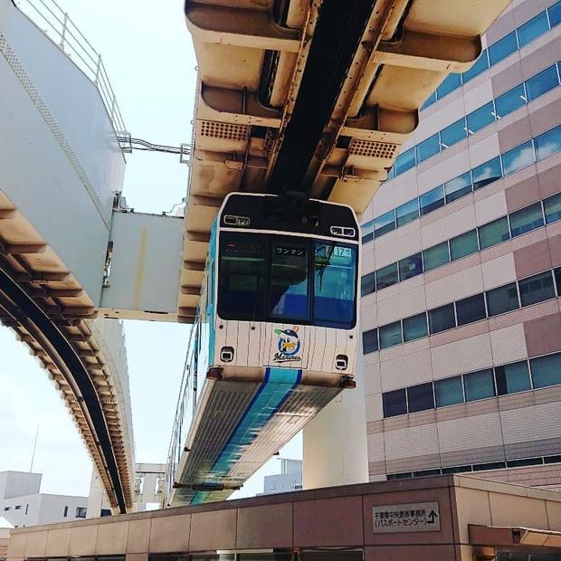 """Không hổ danh """"đất nước ngoài hành tinh"""" trong mắt du khách, Nhật Bản chính là nơi sở hữu đoàn tàu treo ngược dài nhất thế giới hiện nay - Ảnh 13."""