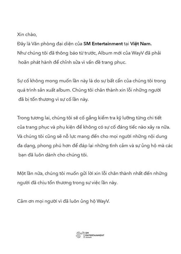 Khi 4 ông lớn Kpop liên tục mắc lỗi: BLACKPINK mới tung MV đã dính tranh cãi, SUGA (BTS) bị chỉ trích nặng nhất, SM còn phải lên tiếng xin lỗi fan Việt - Ảnh 8.