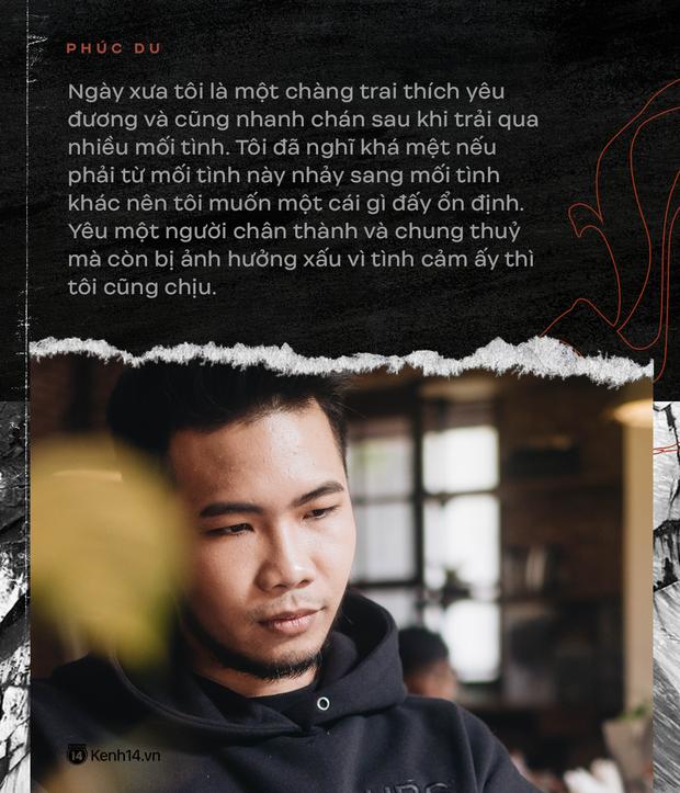 Rapper Phúc Du: Ấn tượng Bích Phương vì rất hay có MV đứng cạnh rèm, đã có người yêu 3 năm và muốn tiến đến hôn nhân! - Ảnh 11.