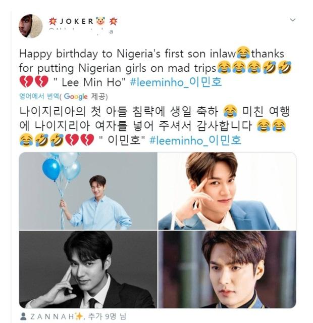 Cười ra nước mắt với lá thư cánh đàn ông Nigeria gửi đến tình địch Lee Min Ho: Tuyên chiến mạnh mẽ, tuy nhiên không quên hỏi thăm bí quyết làm đẹp - Ảnh 5.