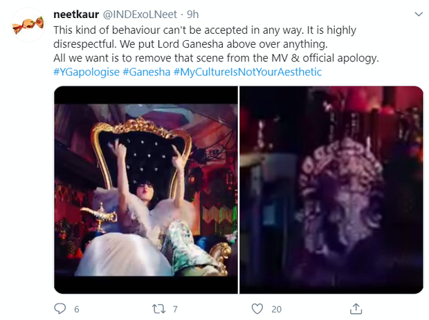 MV How You Like That của BLACKPINK gây tranh cãi vì thiếu tôn trọng vị thần linh thiêng của Ấn Độ, fan cật lực yêu cầu YG xin lỗi - Ảnh 5.