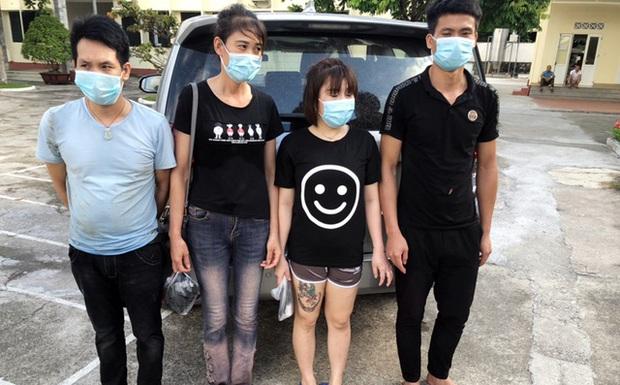 4 người bơi sông từ Trung Quốc về Việt Nam, bị bắt giữ khi vừa vào bờ - Ảnh 1.