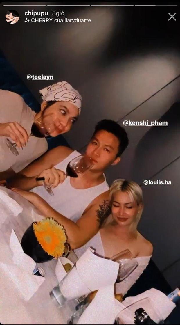 Quỳnh Anh Shyn gặp hội Hoàng Ku và Salim, Chi Pu lại thoải mái tụ tập với nhóm bạn khác sau ồn ào rạn nứt tình chị em - Ảnh 2.