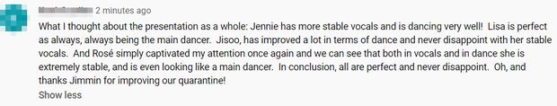 """Netizen """"phát cuồng"""" trước giọng hát và thần thái của BLACKPINK tại sân khấu comeback đầu tiên, tưởng hoàn hảo nhưng vẫn có điểm đáng chê? - Ảnh 2."""