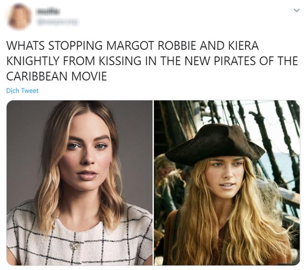 Margot Robbie đóng chính ở Cướp Biển Vùng Caribbean nhưng netizen lại mải khóc thương cho Johnny Depp vì lý do này - Ảnh 7.