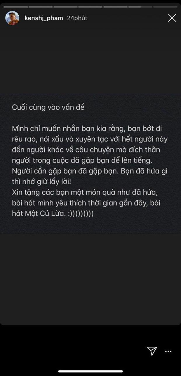 Kenshj Phạm hẹn cộng đồng mạng ra gốc mít kể phốt Quỳnh Anh Shyn nhưng chỉ có Bích Phương đợi ở đó và hát cho ta nghe Một Cú Lừa - Ảnh 5.