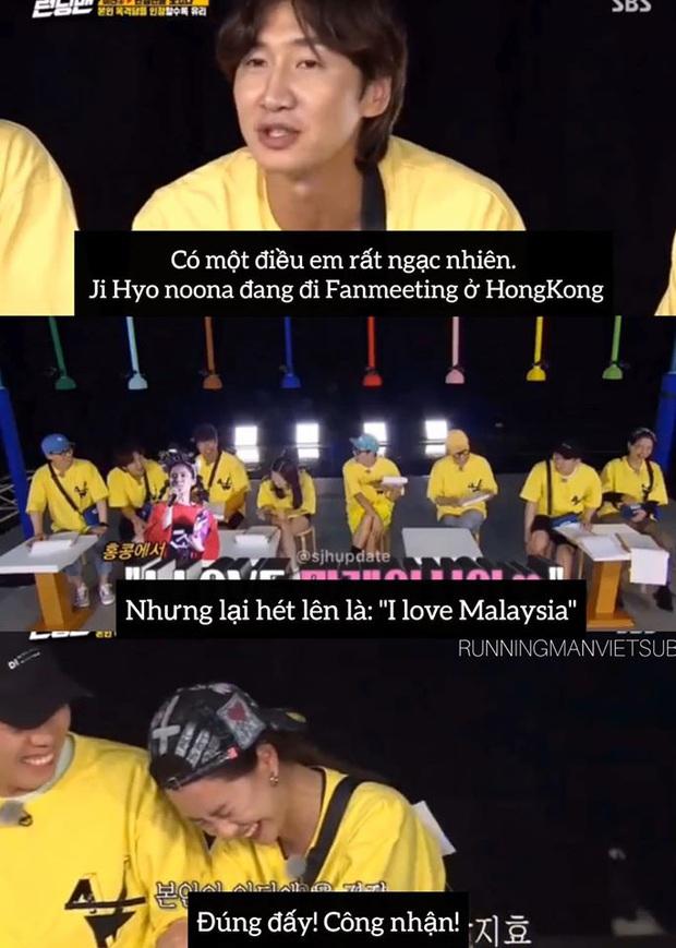 Não cá vàng như Song Ji Hyo: Quên luôn quê quán của fan cứng, đi Hong Kong nhưng lại nhầm thành... Malaysia - Ảnh 2.