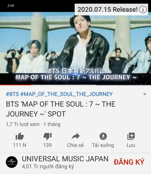 BTS tung MV Nhật mà tiêu đề chẳng hề có tiếng Nhật, đăng teaser một nơi tung MV nơi khác: Hoá ra đặt nặng thành tích, có ý đồ đối đầu BLACKPINK? - Ảnh 5.