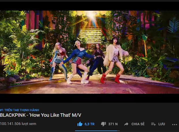 BLACKPINK đạt 100 triệu view How You Like That trong thời gian kỉ lục, xoá sạch hết bóng dáng BTS khỏi các cột mốc view khủng YouTube - Ảnh 2.