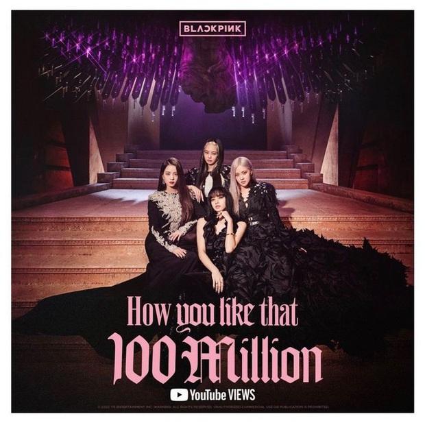 BLACKPINK đạt 100 triệu view How You Like That trong thời gian kỉ lục, xoá sạch hết bóng dáng BTS khỏi các cột mốc view khủng YouTube - Ảnh 1.