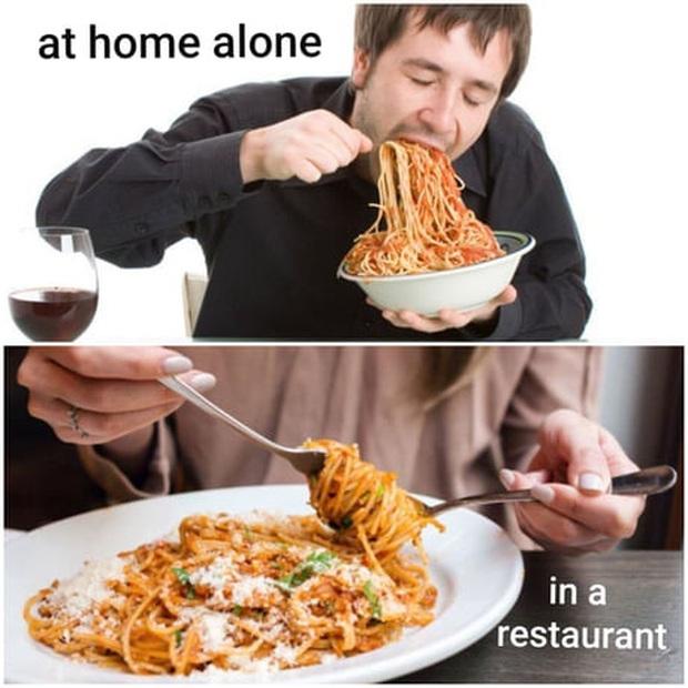 """Trên thế giới luôn có 4 kiểu người khác nhau khi ăn mì Ý, trong đó dân châu Á và Việt Nam vẫn """"trung thành"""" với 1 cách này - Ảnh 3."""