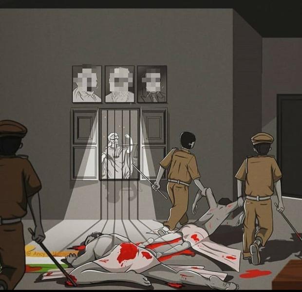 Vụ án gây rúng động đất nước 1,3 tỉ dân: 2 cha con bị cảnh sát tra tấn, hành hạ tàn độc đến chết vì vi phạm lệnh giới nghiêm tại Ấn Độ - Ảnh 2.