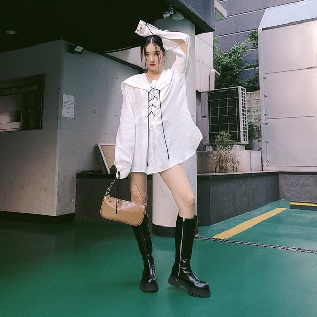 Mặc đẹp như sao Hàn chưa bao giờ dễ đến thế, chị em cứ ngắm loạt outfit đơn giản sau là ra ngay cách mix đồ xịn mịn - Ảnh 8.
