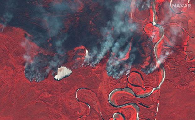 Siberia đỏ lửa và cảnh báo từ Bắc Cực  - Ảnh 1.