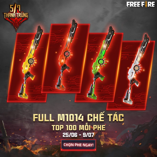 Free Fire: Game thủ nhận miễn phí những gì trong chuỗi sự kiện Ngày Thanh Trừng của Garena? - Ảnh 2.