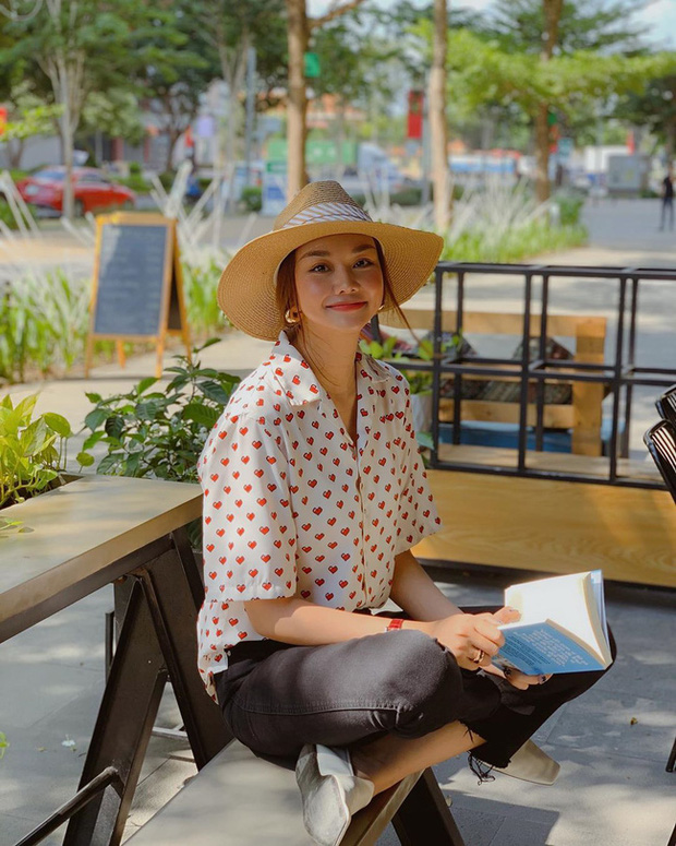 Style Hè của bạn sẽ thật nhàm chán nếu còn chưa sắm ngay 1 em áo họa tiết như sao Việt - Ảnh 6.