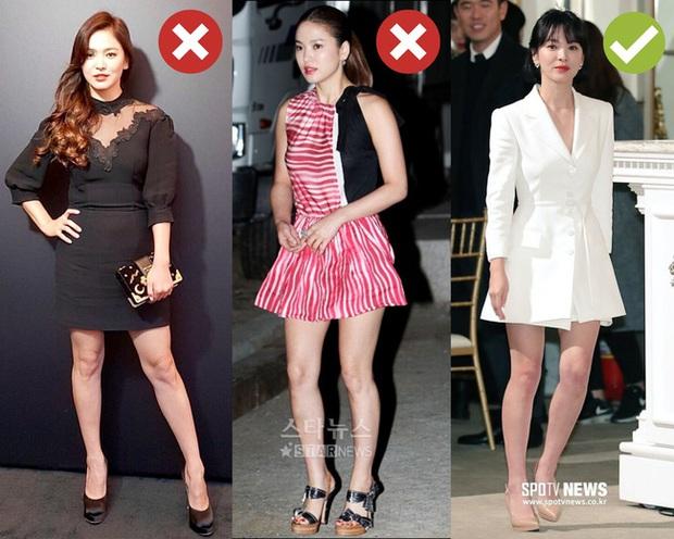 Rút kinh nghiệm từ Song Hye Kyo, chị em sẽ biết mẫu giày nào nên - không nên diện nếu chân ngắn và thô - Ảnh 10.