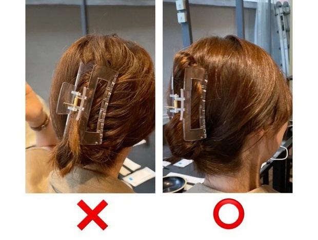 6 cách búi tóc với kẹp càng cua cực dễ, hè này muốn gọn gàng sang chảnh thì chị em phải học ngay - Ảnh 1.