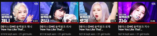 Cuộc đua lượt xem fancam cá nhân của BLACKPINK trên Inkigayo: Lisa hot đến mức đè bẹp tổng view của 3 thành viên còn lại? - Ảnh 9.