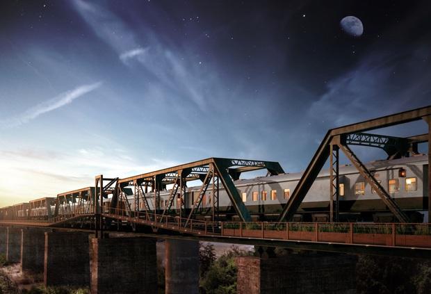 Khách sạn xa hoa nằm trên đường ray tàu hỏa sắp khai trương vào cuối năm 2020: Có giá tận 11 triệu đồng chỉ cho một đêm! - Ảnh 1.