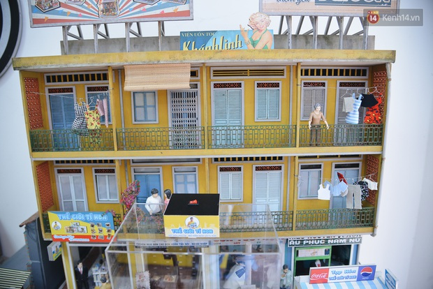 Một Sài Gòn thân thuộc và bình dị được tái hiện qua những mô hình bé xíu, nhìn là thấy cưng! - Ảnh 12.