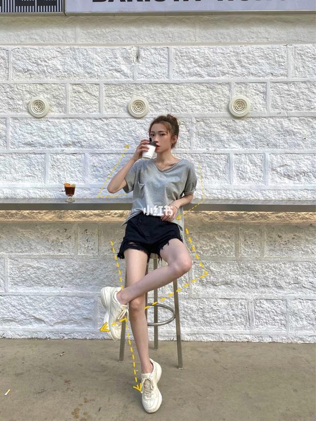 Có kinh nghiệm chụp ảnh lão luyện, cô nàng này thị phạm luôn 8 cách tạo dáng giúp chân dài tít tắp - Ảnh 3.