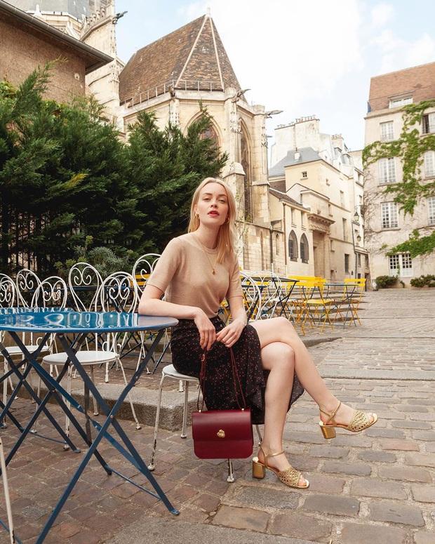 4 mẫu chân váy xinh như mộng được phụ nữ Pháp si mê từ năm này qua tháng khác, bạn sắm theo là style lên đời - Ảnh 4.