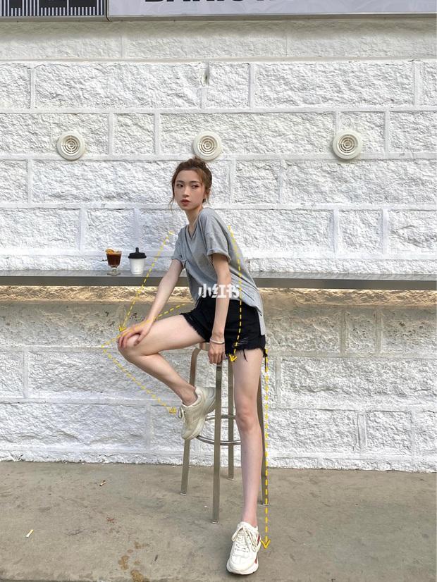 Có kinh nghiệm chụp ảnh lão luyện, cô nàng này thị phạm luôn 8 cách tạo dáng giúp chân dài tít tắp - Ảnh 5.