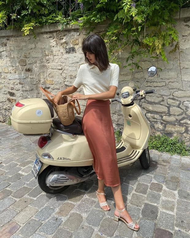 4 mẫu chân váy xinh như mộng được phụ nữ Pháp si mê từ năm này qua tháng khác, bạn sắm theo là style lên đời - Ảnh 6.