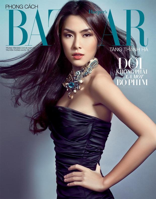 Hà Tăng táo bạo thả rông lên bìa tạp chí, chất chẳng kém người mẫu Chanel khi diện cùng 1 cây đồ - Ảnh 7.