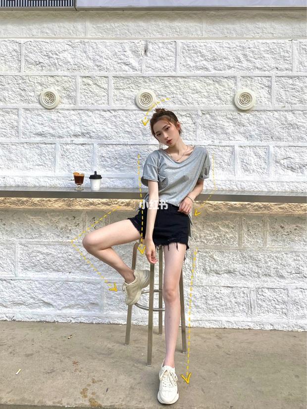 Có kinh nghiệm chụp ảnh lão luyện, cô nàng này thị phạm luôn 8 cách tạo dáng giúp chân dài tít tắp - Ảnh 7.
