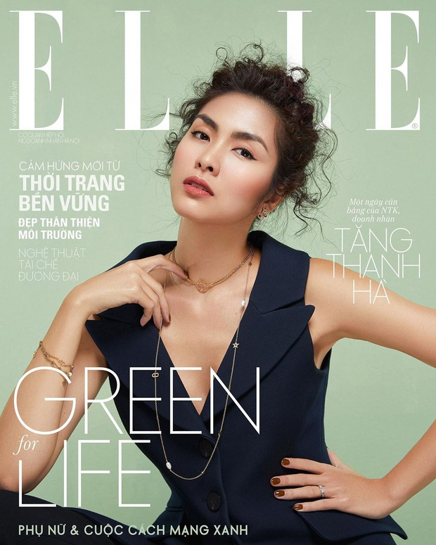 Hà Tăng táo bạo thả rông lên bìa tạp chí, chất chẳng kém người mẫu Chanel khi diện cùng 1 cây đồ - Ảnh 8.