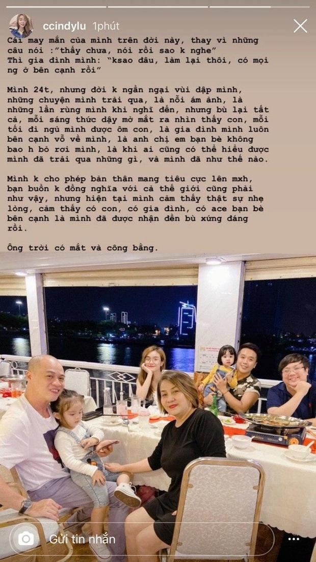 Giữa lúc dân tình xôn xao về clip của Hoài Lâm, Bảo Ngọc khoe ảnh dẫn hai con đi du thuyền: Ông trời có mắt và công bằng - Ảnh 2.