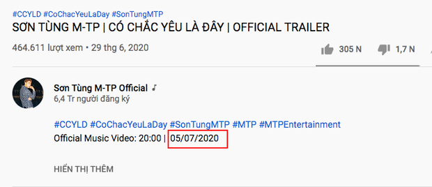 Góc bối rối: Sau 1 năm mới tung teaser comeback, Sơn Tùng M-TP run tay tới mức ghi sai cả ngày phát hành MV? - Ảnh 3.