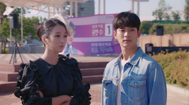 Độ mê trai của Seo Ye Ji tăng chóng mặt nhưng rating Điên Thì Có Sao tập 4 chỉ nhỉnh nhẹ mới buồn! - Ảnh 1.