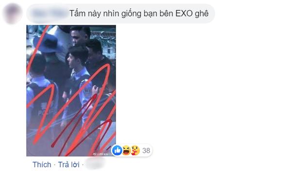 Vương Nhất Bác lộ tạo hình cực soái ở hậu trường Băng Vũ Hỏa nhưng sao lại giống cậu út nhà EXO thế này? - Ảnh 3.